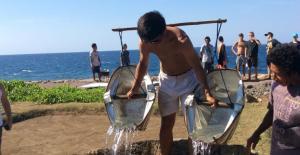 Bali Coral reef rebuilding- salt farming